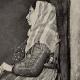 DÉTAILS 02 | Impressionnisme - Mendiante Romaine (Edgar Degas - 1857)