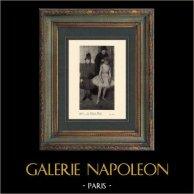 Impressionnisme - Ballet - La Famille Mante (Edgar Degas - 1889)