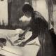 DÉTAILS 02 | Impressionnisme - Repasseuse à Contre-Jour (Edgar Degas - 1882)