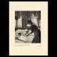DÉTAILS 03 | Impressionnisme - Repasseuse à Contre-Jour (Edgar Degas - 1882)