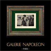 Impressionnisme - Moda Francesa - Modistas - Les Modistes (Edgar Degas - 1882)