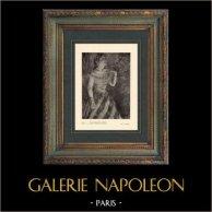 Impressionnisme - La Cantante Verde - La Chanteuse Verte (Edgar Degas - 1884)