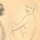 DETALLES 03   Desnudo Artístico - Desnudo Femenino - Mujer - Estudio - Simone - Postura 1