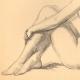 DETALLES 04   Desnudo Artístico - Desnudo Femenino - Mujer - Estudio - Simone - Postura 1