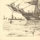 DETTAGLI 02 | Barca a vela - Nave - Bastimento Polacre in Mediterraneo