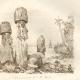DÉTAILS 01 | Iles du Pacifique - Île de Pâques - Statues Colossales de l'Ile Waïhou - Débarcadère de Pitcairn