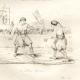 DÉTAILS 02 | Japon - Famille de Mendiants Japonais - Lutteurs Japonais