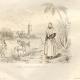 DÉTAILS 02 | Espagne - Minorque - Îles Baléares - Navire de Guerre - Départ d'une Frégate - Costume d'une Dame de Port Mahon