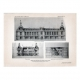 DETAILS 06   Drawing of Architect - Architecture - Troyes - City Hall - Pl. 106 (Emile Robert)
