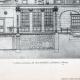 DÉTAILS 01   Dessin d'Architecte - Architecture - Belley - Caisse d'Epargne - Pl. 48 (Abel Rochet)