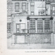 DÉTAILS 04   Dessin d'Architecte - Architecture - Belley - Caisse d'Epargne - Pl. 48 (Abel Rochet)