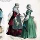 DETTAGLI 02 | Costume Olandese - Moda Olandese - Olanda - L'Aia - Scheveningen - Frisia (19 Secolo - XIX Secolo)