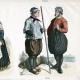 DETTAGLI 04 | Costume Olandese - Moda Olandese - Olanda - L'Aia - Scheveningen - Frisia (19 Secolo - XIX Secolo)