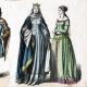 DÉTAILS 02   Costume Allemand - Mode Allemande - Uniforme - Allemagne - Prince (14ème Siècle - XIVème Siècle)