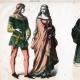 DÉTAILS 03   Costume Allemand - Mode Allemande - Uniforme - Allemagne - Prince (14ème Siècle - XIVème Siècle)