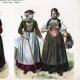 DETAILS 02   Swiss Costume - Swiss Fashion - Uniform - Switzerland - St. Gallen - Berne - Valais - Simmenthal - Schaffhausen - Guggisberg (19th Century - XIXth Century)