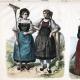 DETAILS 03   Swiss Costume - Swiss Fashion - Uniform - Switzerland - St. Gallen - Berne - Valais - Simmenthal - Schaffhausen - Guggisberg (19th Century - XIXth Century)