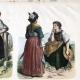 DETAILS 04   Swiss Costume - Swiss Fashion - Uniform - Switzerland - St. Gallen - Berne - Valais - Simmenthal - Schaffhausen - Guggisberg (19th Century - XIXth Century)