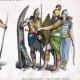 DÉTAILS 02   Costume Assyrien - Costume Persan - Mode Assyrienne - Uniforme Militaire - Assyrie - Perse