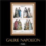 Italian Costume - Italian Fashion - Italy - Florence - Venice - Rome - Siena - Padua - Doge - Nobility (16th Century - XVIth Century)