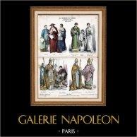 Costume Religioso - Uniforme - Cardinale - Papa e Guardia Svizzera (16 Secolo - XVI Secolo)