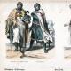 DÉTAILS 03   Costume - Uniforme Militaire - Templier - Ordre du Temple - Croisade - Frères de l'Épée - Chevaliers Porte-Glaive (12ème Siècle - XIIème Siècle)