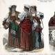DETAILS 01 | Italian Costume - Italian Fashion - Italy - Rome - Naples - San Germano - Genzano - Pifferaro - Neapolitan Fisherman (19th Century -  XIXth Century)