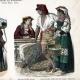 DETAILS 02 | Italian Costume - Italian Fashion - Italy - Rome - Naples - San Germano - Genzano - Pifferaro - Neapolitan Fisherman (19th Century -  XIXth Century)