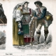 DETAILS 04 | Italian Costume - Italian Fashion - Italy - Rome - Naples - San Germano - Genzano - Pifferaro - Neapolitan Fisherman (19th Century -  XIXth Century)