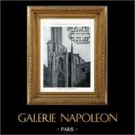 Cattedrale - Duomo di Aix-en-Provence (Bocche del Rodano - Francia) | Eliotipia originale. Anonima. 1926