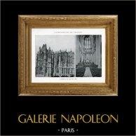Duomo - Cattedrale di Beauvais (Oise - Francia) | Eliotipia originale. Anonima. 1926