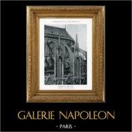 Catedral Notre-Dame de Paris - Contreforts et Arcs-Boutants du Choeur - Nuestra Señora de París (Francia)