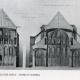 DETAILS 02   Drawing of Architect - Historic Monument - Church of Chapelle-sur-Crécy - Crécy-la-Chapelle (Seine-et-Marne - France)
