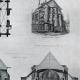 DETAILS 04   Drawing of Architect - Historic Monument - Church of Chapelle-sur-Crécy - Crécy-la-Chapelle (Seine-et-Marne - France)
