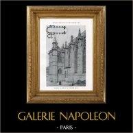 Monumento Histórico - Capilla - Castillo de Vincennes (Francia)