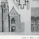 DÉTAILS 01   Dessin d'Architecte - Monument Historique - Eglise Saint Serges de Angers (Maine-et-Loire - France)