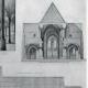 DÉTAILS 04   Dessin d'Architecte - Monument Historique - Eglise Saint Serges de Angers (Maine-et-Loire - France)
