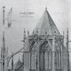 DÉTAILS 04   Dessin d'Architecte - Monument Historique - Eglise Saint Urbain à Troyes (Aube - France)