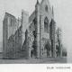 DÉTAILS 01 | Dessin d'Architecte - Monument Historique - Eglise Notre-Dame de Cléry (Loiret - France)