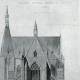 DÉTAILS 04 | Dessin d'Architecte - Monument Historique - Eglise Notre-Dame de Cléry (Loiret - France)