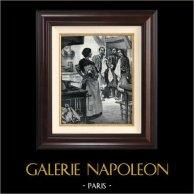 La Invasión de Madagascar - Zuavo - Colonialismo - Colonización Francesa - La Cantinière du 13e (Georges Le Faure)