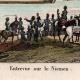 DÉTAILS 01 | Guerres Napoléoniennes - Entrevue de Napoléon et du Tsar Alexandre Ier de Russie sur le Fleuve Niémen (1807)
