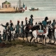 DÉTAILS 05 | Guerres Napoléoniennes - Entrevue de Napoléon et du Tsar Alexandre Ier de Russie sur le Fleuve Niémen (1807)