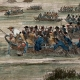 DETAILS 04 | Napoleonic Wars - Diershein - Crossing of the Rhine before the Battle of Diersheim - French Victory under General Moreau against the Austrians under General Staray (1797)