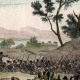 DETAILS 06 | Napoleonic Wars - Diershein - Crossing of the Rhine before the Battle of Diersheim - French Victory under General Moreau against the Austrians under General Staray (1797)