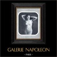 French Erotic Daguerreotype - Female Nude - Joséphine Naked