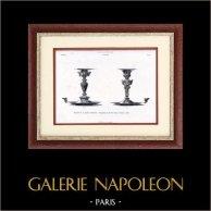 Bougeoirs - Paul Fauré (Paris)