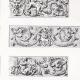 DÉTAILS 02   Ornements de Panneaux des Stalles du Choeur de l'Eglise S. Severino à Naples
