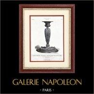 Silver Candlestick - Renaissance - J. Brateau - Boucheron (Paris)
