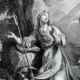 DETAILS 03   Sancta Genovefa - Sainte Genevieve - Patron Saint of Paris in Roman Catholic and Eastern Orthodox Tradition
